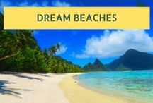 Dream Beaches / From Fiji to Mexico to Thailand - let's get some sunny inspiration. I've compiled a list of the top 10 beaches in the world that I've visited throughout my short life thus far. Some tough choices had to be made to come up with this top 10 list but here we go.  To see the full article, visit: http://xdaysiny.com/top-10-beaches/