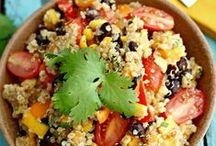 ♥ Quinoa Recipes / All about quinoa and quinoa recipes