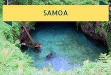 Travel To Samoa - Tropical Islands / Beautiful Samoa is a proud independent island nation in the South Pacific. Just 163 km's away - American Samoa, the only US territory south of the Equator! Authentically Polynesian and charmingly traditional, here are some resources to help turn your South Pacific fantasy into reality!