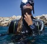 Watch The World Dive / Dive watches above and underwater shootings.