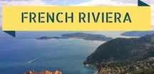 Travel To The French Riviera / Inspiration from one of the classiest holiday destinations in Europe. The French Riviera's glittering coast is a pleasure playground, while its mountains and small towns offer visitors an authentic taste of Provencal life!