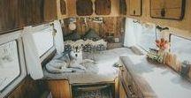 #VanLife Camper Vans / Beautiful Renovated Camper Vans Inspiration for Travel and Road Trips