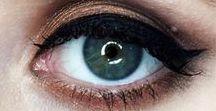 Ojos / Todo sobre maquillaje de ojos, sombras, delineados, técnicas.