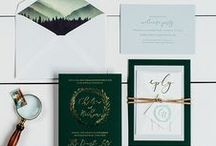 The Chelsea Suite - Wedding Inspiration / Our curated board of wedding inspiration to compliment the Chelsea Suite // Inclosed Letterpress Co. Custom Wedding Collection // Letterpress Invitations // Outdoor + Woodsy + Whimsical + Dapper  //  Wedding Inspiration