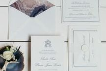 The Amelia Suite - Wedding Inspiration / Our curated board of wedding inspiration to compliment the Amelia Suite // Inclosed Letterpress Co. Custom Wedding Collection // Letterpress Invitations // Classic + Formal + Elegant  //  Wedding Inspiration