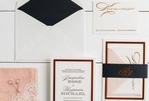 The Jacqueline Suite - Wedding Inspiration / Our curated board of wedding inspiration to compliment the Jacqueline Suite // Inclosed Letterpress Co. Custom Wedding Collection // Letterpress Invitations // Dapper + Formal + Sleek // Wedding Inspiration