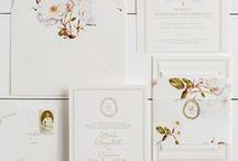 The Leah Suite - Wedding Inspiration / Our curated board of wedding inspiration to compliment the Leah Suite // Inclosed Letterpress Co. Custom Wedding Collection // Letterpress Invitations // Charming + Timeless + Airy // Wedding Inspiration