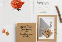 The Annie Suite - Wedding Inspiration / Our curated board of wedding inspiration to compliment the Annie Suite // Inclosed Letterpress Co. Custom Wedding Collection // Letterpress Invitations // Sweet + Refined + Magical // Wedding Inspiration