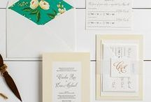 The Cecelia Suite - Wedding Inspiration / Our curated board of wedding inspiration to compliment the Cecelia Suite // Inclosed Letterpress Co. Custom Wedding Collection // Letterpress Invitations // Classic + Whimsical + Graceful // Wedding Inspiration
