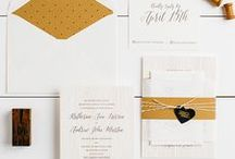 The Katherine Suite - Wedding Inspiration / Our curated board of wedding inspiration to compliment the Katherine Suite // Inclosed Letterpress Co. Custom Wedding Collection // Letterpress Invitations // Rustic + Elegant + Quaint // Wedding Inspiration