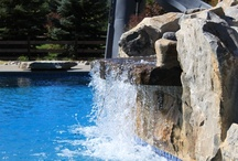 Pools with Waterfalls