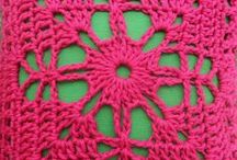crochet motifs and charts/crochet: motivos y diagramas