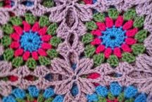 crochet joining/ ganchillo unir motivos