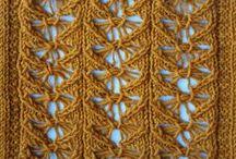 knitting stitches. Punto: motivos