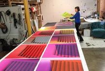 Kate Petley's monoprints / Kate Petley created several series of monoprints at Manneken Press in 2013 and 2016. View them all at http://mannekenpress.com/artists-3/kate-petley-grid/#mg