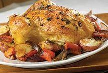 Poulet et Dinde, Chicken, Turkey / by Mariette Duguay