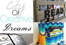 City Of Creative Dreams Link Party / Link Party Features of crafts, recipes, home decor, sewing, you name it!