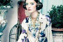 Allure : Bohême / BoHo Style and Gypsy Chic //  Fleurs de soie // Dentelle vintage // Foulard et sequins  // Silk flowers // Vintage lace // Scarf and sequins