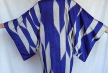 Allure : Soleil levant / Kimono //  Soie // Taille ceinturée // Japonese silk // with belt