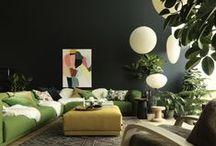 Déco : à vivre / Home sweet home : Living room