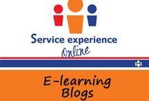 E-learning blogs / Blogs van Service experience online delen wij ook via Pinterest. / by Service experience online