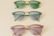 Accessoire : La lunette / Glasses and sunglasses