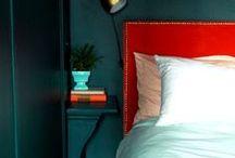 Déco : au lit / Home sweet home : Master Bedroom // Chambre à coucher // Suite parentale // Hôtel