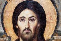 ICONE Cristo Pantocratore / icone bizantine raffiguranti Cristo Pantocratore