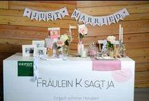 FRÄULEIN K SAGT JA zu Besuch bei DEPOT / Hochzeitsbloggerin Katja Heil von Fräulein K sagt Ja zu Besuch bei DEPOT. Schaue vorbei und lasse Dich von vielen tollen Ideen inspirieren! Den passenden Beitrag hierzu findest Du unter: www.fraeulein-k-sagt-ja.de.
