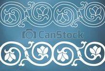 Iconografia - bordure e decori