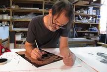 Richard Hull: etchings and monotypes / Recent prints by Richard Hull published by Manneken Press