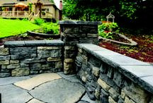 Nicolock Accents / Accents can add that extra bit of elegance,character or stately charm to your hardscape design. From garden edging to a circle or fan that can turn your driveway or patio into your own personal statement.