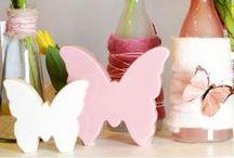Die Vielfalt der Schmetterlinge / Schmetterlinge sind die perfekten Frühlings-Accessoires für Dein Zuhause. In Kombination mit Vasen, Kunstblumen oder Gras kommt deine Frühlingsdekoration besonders zur Geltung.