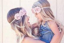 [Fashion] Little girl and mom / Porque no solo de amor se vive. La moda es importante entre la madre y sus hijas, inspiración para combinar, acertar y ser la pareja mas adorable.