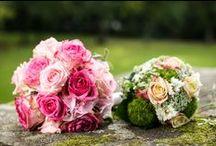 Hochzeit / Dekoration, Farben und Blumen rund um die Hochzeit.