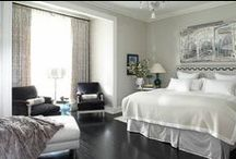 Gray Bedroom Inspiration / My favorite picks for using gray in a bedroom.