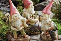 Petite Garden Fairies & Animals