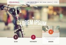 web design / Not the best way to showcase web and interaction design / by Jeremy Lowe
