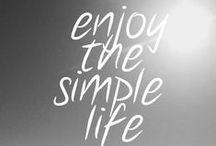 Lifestyle / Wie ik wil zijn, de doelen die ik wil bereiken.