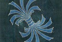 束ね熨斗文様 〆 tabane-noshi / pattern