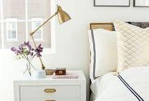 Inspiración Dormitorio matrimonial / Toda la inspiración que pueda encontrar para decorar y organizar y darle el giro que quiero y necesito al dormitorio que comparto con mi pareja.