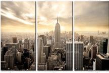 Urban style / Tableau et Papiers Peints New York, Paris, Sydney pour la décoration intérieure