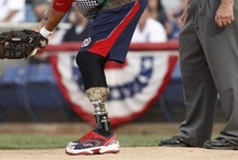 Wounded Warriors play ball / Gary Cameron