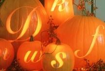 Autumn & Halloween Wedding