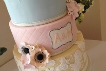 Cakes at Coombe Lodge / Beautiful cakes we have had at Coombe Lodge from some very talented cakes makers
