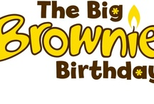 The Big Brownie Birthday Fundraising Cross Stitch Kit / I have designed and made a cross stitch kit to sell to raise funds for our Big Brownie Birthday celebrations. Contact me if interested in buying one.
