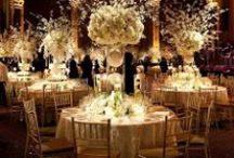 Tall centrepieces for Weddings / Tall centrepiece for weddings.