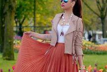 Long skirts / Moda 2013-2014