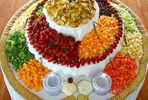Entertaining / A smorgasbord of party and entertaining ideas, dips, tips, appetizers, cheese / cracker /  fruit  boards, drinks, etc.