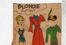 """Paper Dolls - Comics/Newspapers / MY OTHER """"PAPER DOLL"""" BOARDS: Paper Dolls; Paper Dolls-Dingle; Paper Dolls-DIY; Paper Dolls-Celebrities; Paper Dolls-Holidays;Paper Dolls-Historical; and Paper Dolls of Many Lands. / by Nancy Kelly"""